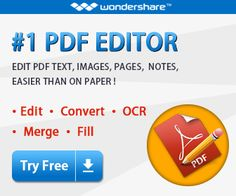 Easily Create, Edit, Convert, Sign, OCR PDF files. Change the way you work with PDF.