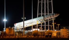 This Week in Space: Partial eclipse, Antares prepares for launch | CTV News