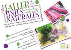 Taller tintes naturales de Lanzarote con la Asociación Milana