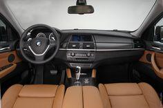 Exactly my 2013 BMW X6 interior