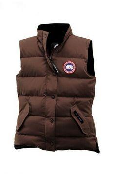 Canada Goose Freestyle Vest Coffee Women\'s