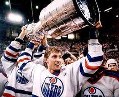 Wayne Gretzky, Stanley Cup Winner, Oilers!