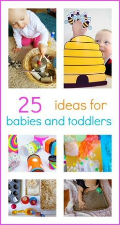 Awesome e-book with lots of easy play ideas for Babies and Toddlers.
