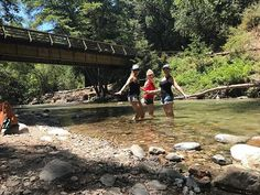 Tres Amigas! Cooling our feet down in the river was the best treat during our hike at #pfieffer #bigsur #lovemygirls #bffs #summer #calocals - posted by Sarah Tretinjak https://www.instagram.com/sarah_tretinjak - See more of Big Sur, CA at http://bigsurlocals.com