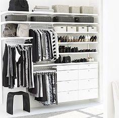 New White Closet Decor Shelves Ideas