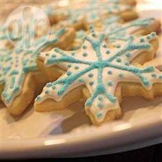 Zdjęcie do przepisu: Cukrowe ciasteczka wykrawane
