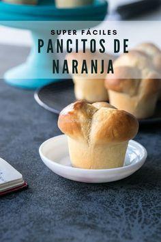 Pancitos de naranja super fáciles - el gato goloso Pan Bread, Pecan, Biscuits, Muffins, Bakery, Food And Drink, Cupcakes, Cookies, Sweet