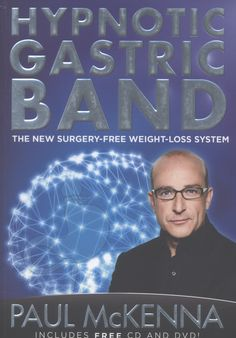 A Gastric Band is a radical, surgical operation that reduces the available space in the stomach. Paul McKenna's Hypnotic Gastric Band is a psychological procedure that can help to convince the unconscious mind that a gastric band has been fitted, so the body behaves exactly as if it were physically present. HOW DOES IT WORK? Along with the book, the system contains a hypnosis CD and an instructional DVD to provide complete support for physical and psychological change whilst you lose weight.