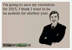 Ha!  New Year's humor