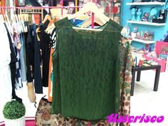 Vintage green shirt