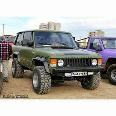 """""""Range rover classic 2 door offroad custom  From Fan . #RangeRover #vogue…"""