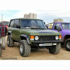 """Range rover classic 2 door offroad custom  From Fan . #RangeRover #vogue…"