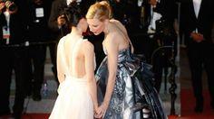 Blanchett lesbian drama 'a labour of love' Rooney Mara and Cate Blanchett embark on an illicit lesbian affair in Todd Haynes's film Carol.