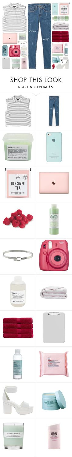 """come and see me / BRIGHT & FRESH"" by omgjailah ❤ liked on Polyvore featuring Monki, WithChic, Davines, Mario Badescu Skin Care, Christy, The Body Shop, ASOS, A.P.C., Maison Margiela and jaystaglist"