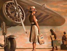 Traveling Woman Illustration, Woman Illustration, Illustration | InspireFirst