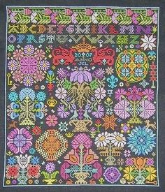 A colour version if Opus II #cross stitch #Afs 5/5/13