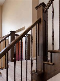 Image Result For Dark Balusters White Trim | Stairs | Pinterest | White Trim