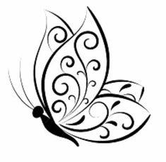 Butterfly Stencil, Butterfly Drawing, Butterfly Template, Mariposa Butterfly, Crown Template, Butterfly Mobile, Heart Template, Flower Template, Monarch Butterfly