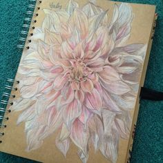 Flower drawing by me