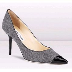 Jimmy choo classic flannel pointy toe pump