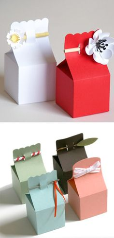 Paper gift bags.♥..¸¸.•♥•