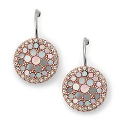Topping our Best Sellers: Fossil Disc Drop Earrings