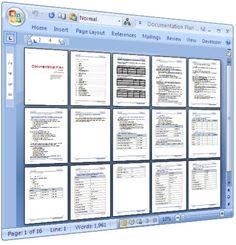 Documentation Plan Templates