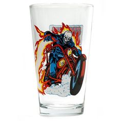 (affiliate link) Ghost Rider Toon Tumbler Pint Glass