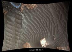 La Nasa ha creato una gif in cui si può vedere quanto il vento muti ogni giorno la conformazione del paesaggio del pianeta Marte
