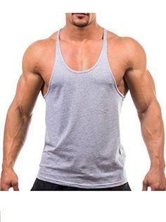 17c53d8bd185d9 Men Tank Top Thin Strap Fitness Men Body Bodybuilding Stringer Singlets  Suit T-shirt Cotton Shirt