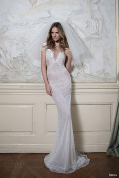 tony ward 2016 bridal off the shoulder neckline cap sleeves lace modified a line wedding dress nightshade