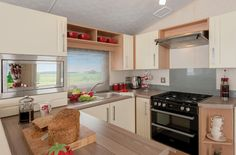 Kettle not included. Integrated microwave optional extra