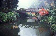 The Strolling Garden Bridge, Portland Japanese Garden
