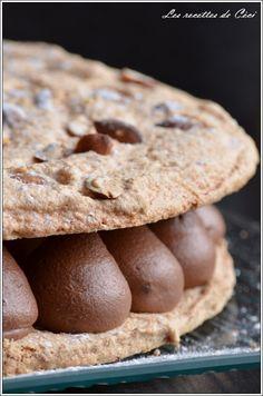 Dacquoise aux amandes et au chocolat