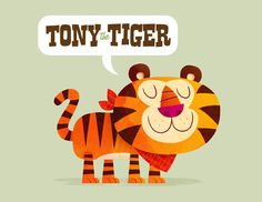 An Illustration-a-Day Blog: Tony the Tiger