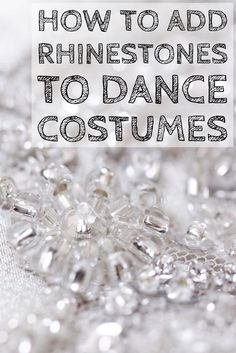 to Add Rhinestone Designs to Dance Costumes Looking to add some pop to your students' dance costumes? Check out these tips on how to apply rhinestone designs for some show-stopping outfits.Costumer Costumer may refer to: Custom Dance Costumes, Dance Costumes Lyrical, Lyrical Dance, Ballet Costumes, Belly Dance Costumes, Dance Leotards, Jazz Dance, Ballroom Dance Dresses, Ballroom Dancing