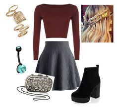 """""""Ambrosia: Dance Competition"""" by annemarie-schuyt on Polyvore featuring Chicwish, WearAll, New Look, Inge Christopher and Topshop"""