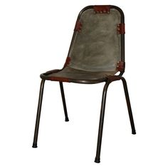Les Arcs Chair by Charlotte Perriand | From a unique collection of antique and modern side chairs at https://www.1stdibs.com/furniture/seating/side-chairs/