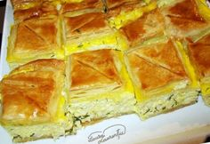 Romanian Desserts, Romanian Food, Romanian Recipes, Cheesecake Recipes, Dessert Recipes, Good Food, Yummy Food, Puff Pastry Recipes, Diy Food