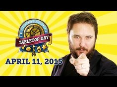 Play moar games on TableTop Day! Calliope Games will be hanging out with Uncles Games in Crossroads Mall and with [toggle Gaming] in Chicago! ▶ Wil Wheaton Announces International TableTop Day 2015 - YouTube
