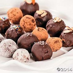 Simple Chocolate Truffles