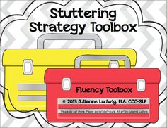 Mrs. Ludwig's Speech Room: Fluency Toolbox for Stuttering