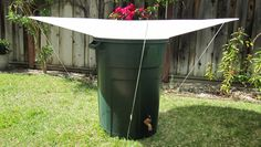 Collect up to 10 gallons of water per inch of rain with Rainsaucers' latest standalone rainwater catchment $75