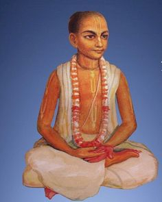 Translated by Dravida Das. Oh! Supreme Lord Visvambhara, You are the husband of the goddess of fortune, and my eternal friend. Only You are capable of distributing the wealth of love of Godhead. You are known as kindhearted to those who depend upon You, therefore, oh Lord, please shower You kindness upon me.