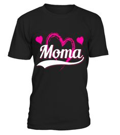 Lovely Moma Adorable heart Love TShirt on Xmas/Mother's Day  Funny lonely T-shirt, Best lonely T-shirt