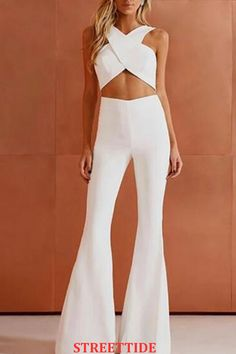 Nice white jumpsuit design - Nice white jumpsuit design Source by - White Outfits, Classy Outfits, Trendy Outfits, Fashion Outfits, Womens Fashion, Ladies Outfits, White Outfit Party, Designer Jumpsuits, Look Girl