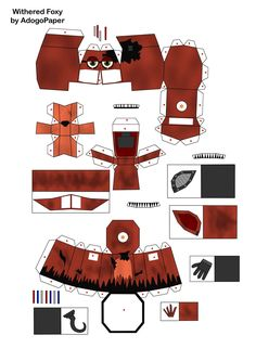 five_nights_at_freddy_s_2_old_foxy_papercraft_pt_1_by_adogopaper-d8k0fby.jpg (2480×3508)