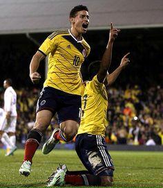 James Rodriguez en amistoso vs USA en Londres Nov 14, 2014