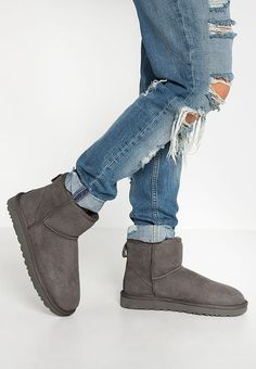 Chaussures UGG CLASSIC MINI II - Bottines - grey gris  170 6ab1a7c8b