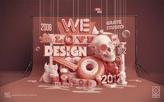 We Love Design by Peter Tarka, via Behance